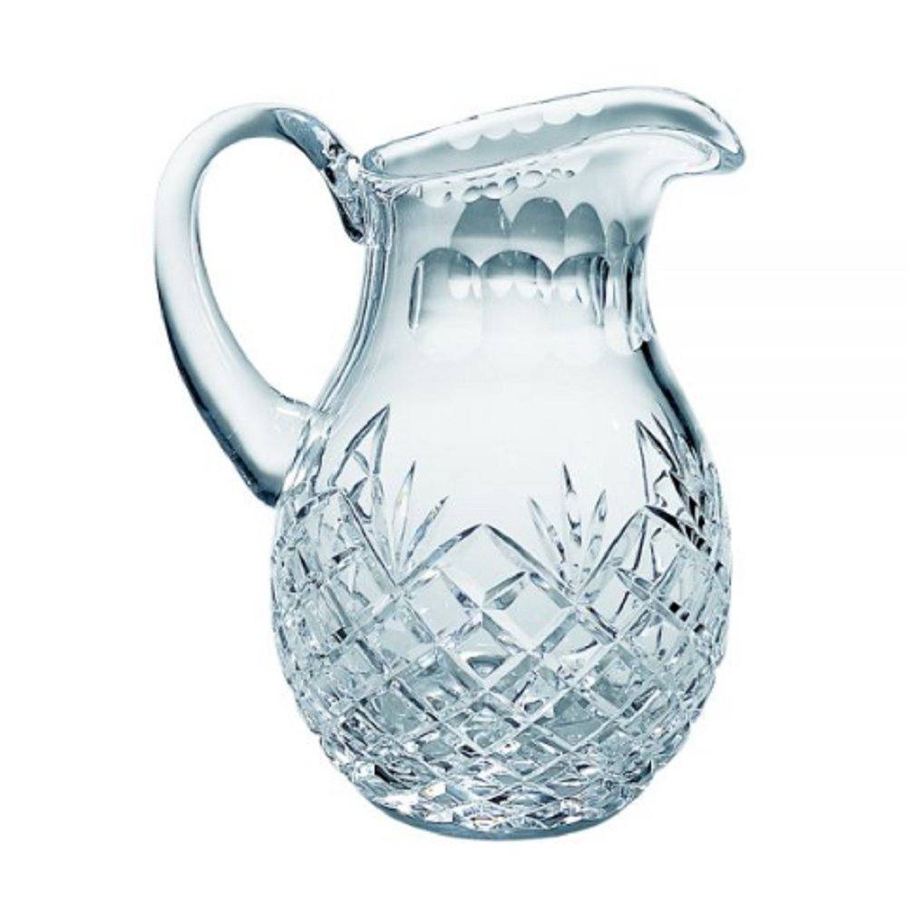 LEAD CRYSTAL PITCHER WITH MEDALLION PATTERN by CGI001