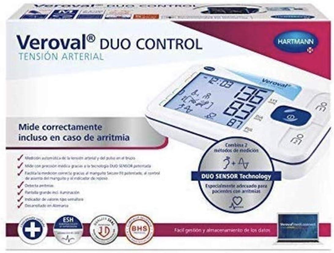 VEROVAL TENSOVAL Duo Control II 1 UD, Negro, Tamaño Manguito Mediano Stadart
