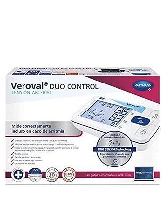 Hartmann Tensiometro Veroval® Dúo Control Tensiómetro de Brazo NOVEDAD: Amazon.es: Salud y cuidado personal