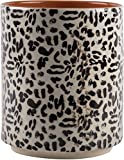 Modern Utensil Container- Utensil Country Crock Black and White animal print