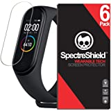 Spectre Shield (6 Pack) Screen Protector for Xiaomi Mi Band 4 Accessory Xiaomi Mi Band 4 Screen Protector Case Friendly…