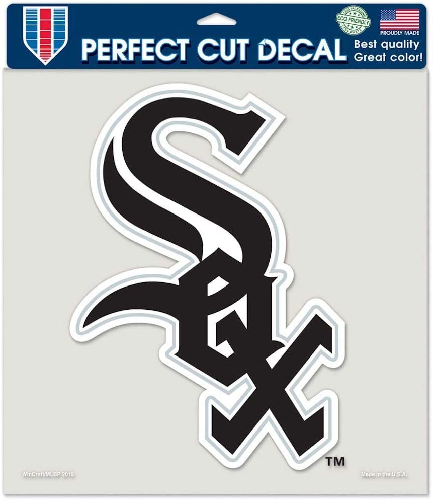 8x8 Color Chicago White Sox Die-Cut Decal