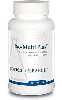Amazon.com: Biotics Research Aqueous Multi-Plus - Líquido ...