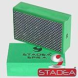 Stadea HPW108K Diamond Hand Polishing Sanding Pads - Marble Glass Stone Concrete Hand Polishing, 6 Pads Set