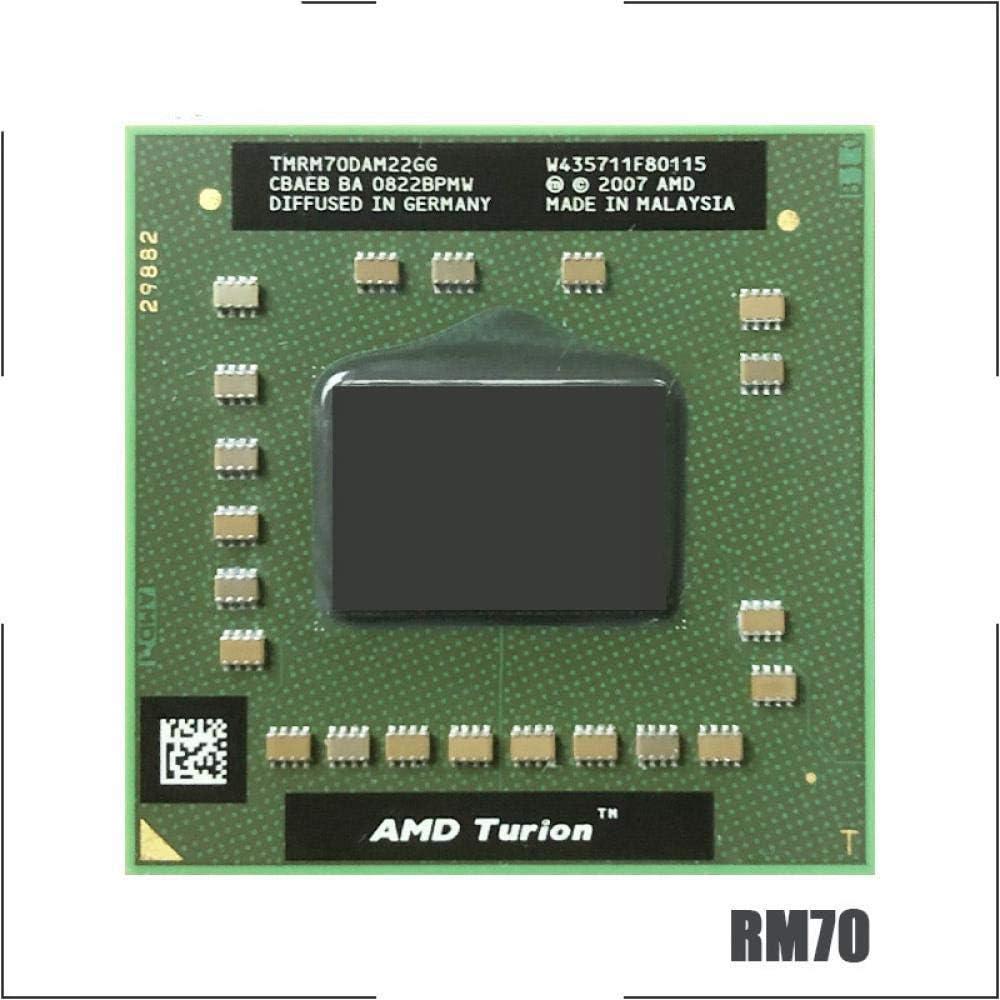 AMD Turion 64 X2 Mobile Technology RM-70 RM 70 RM70 2.0 GHz Dual-Core Dual-Thread CPU Processor TMRM70DAM22GG Socket S1