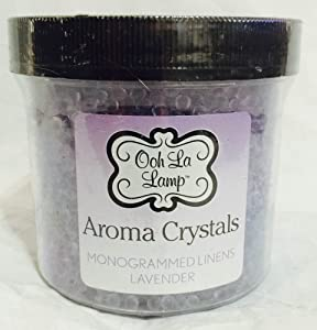 Ooh La Lamp Aroma Crystals Monogrammed Linens Lavender