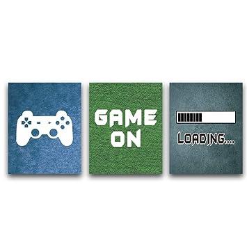 Amazon.com: CHDITB - Póster de juegos de vídeo sin marco ...