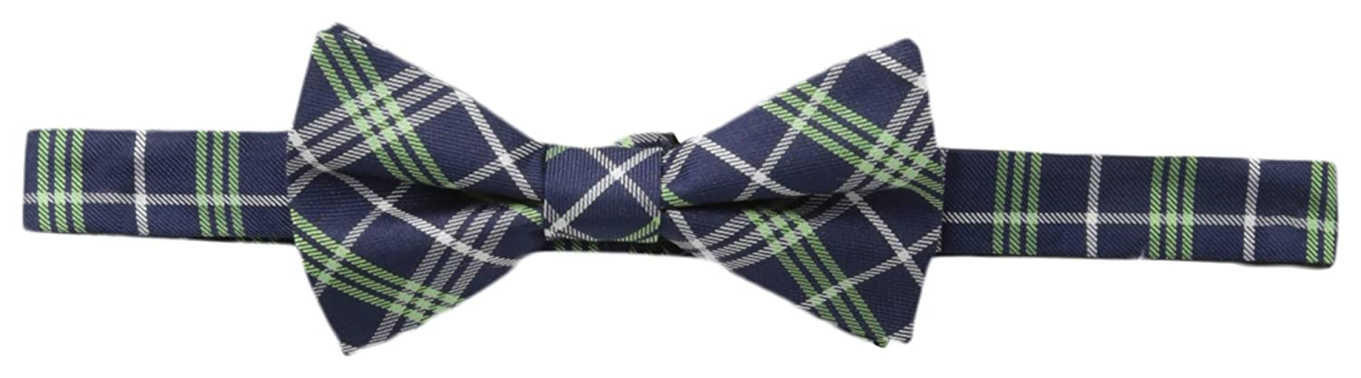 Tommy Hilfiger Mens Spring Plaid 3 Bow Tie