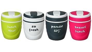 Boite repas isotherme 1 litre - conserve au chaud - lunch box ... 5e82c03c3527