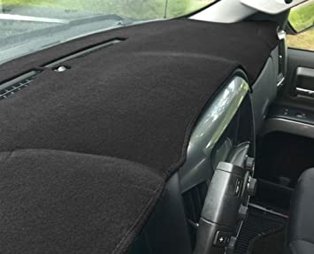Fits 2002-2009 Custom Velour, Charcoal Seat Covers Unlimited GMC Envoy Dash Cover Mat Pad