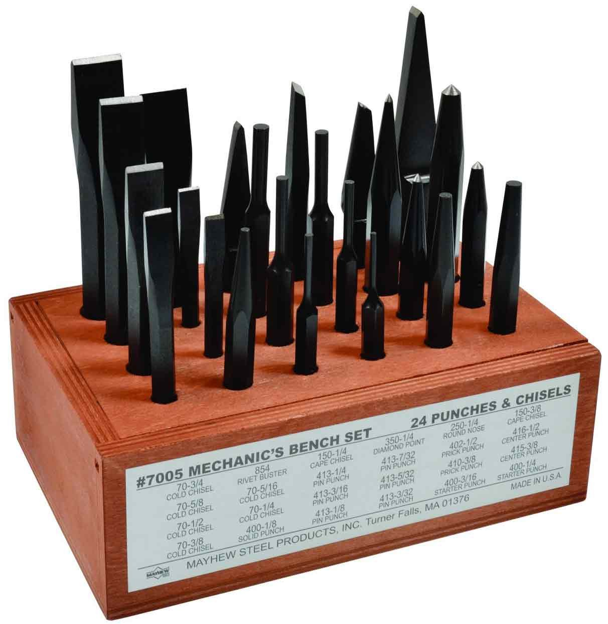 Mayhew Pro 61080 Mechanics Bench Set, 24-Piece by Mayhew Tools