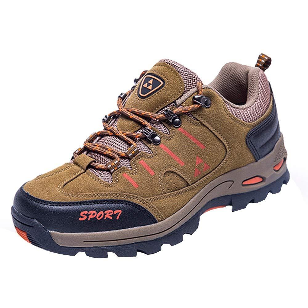 Quaan Unsex Männer und Frau Draussen Beiläufig Schnüren Gemütlich Laufen Bergsteigen Schuhe Schnalle Gürtel Ort Hacke Single Schuhe gemütlich weich Draußen