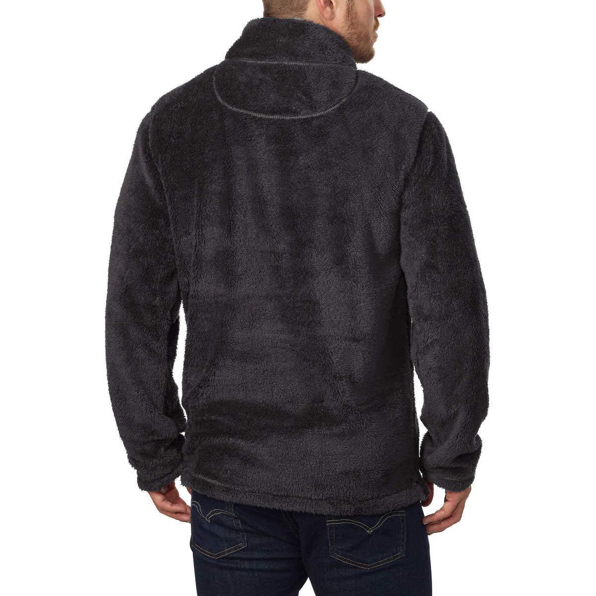 Trinity Mens Plush /¼ Zip Pullover