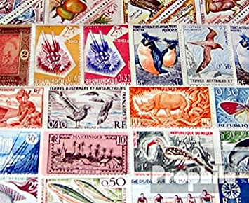 Prophila Francia 50 diferentes sellos francés colonia sin sucesor (sellos para los coleccionistas)