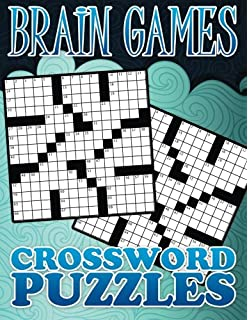 Amazon brain games crossword puzzles 9781605533735 editors brain games crossword puzzle ccuart Choice Image
