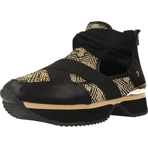 GIOSEPPO Zapatillas Mujer Zapatillas Altas 43418 Negro: Amazon.es: Zapatos y complementos
