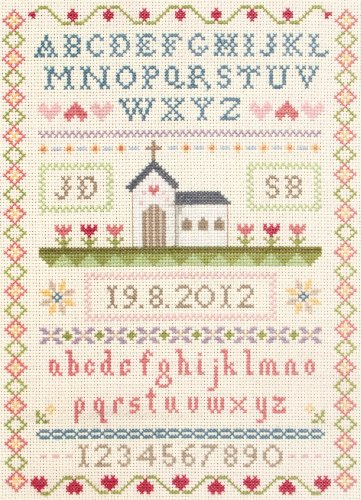 Anchor Classic Wedding Sampler Cross Stitch Kit