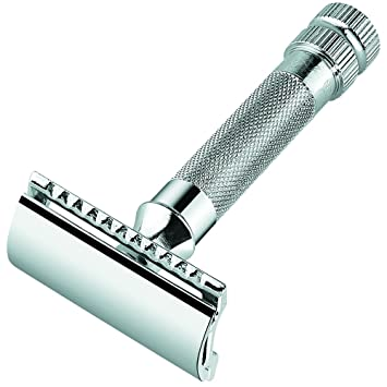 Merkur Heavy Duty Double Edge Razor (Blade Included)
