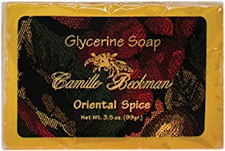 product image for Camille Beckman Glycerine Bar Soap, Oriental Spice, 3.5 oz