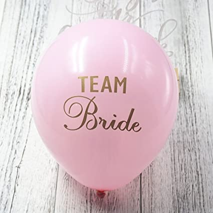 BlackTEAM BRIDE 12 Pcs Baby Shower Balloon With Gold Glitter Shiny Its A Girl Its A Boy Printed for Happy New Year Eve Party Decoration Baby Shower Boy Girl Adult Birthday Decorations Sogorge