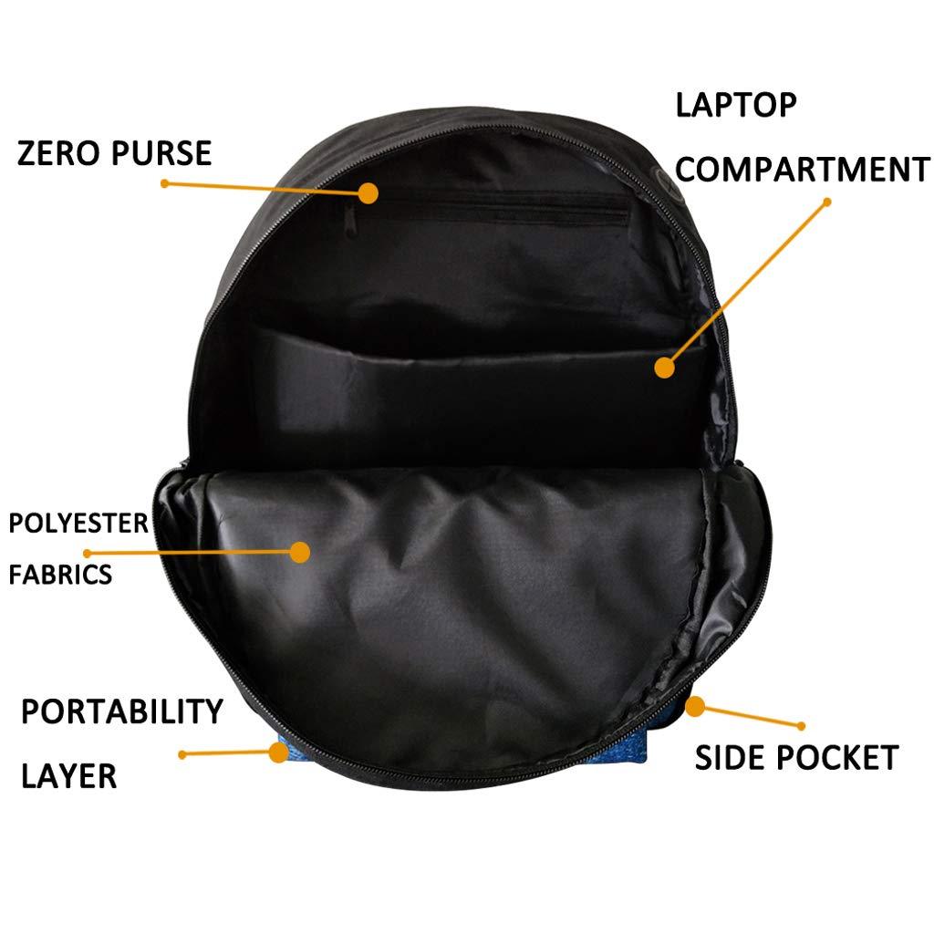 Dnosaur Pattern Backpack Casual Style Canvas Travel School Bag//Bookbags for boys