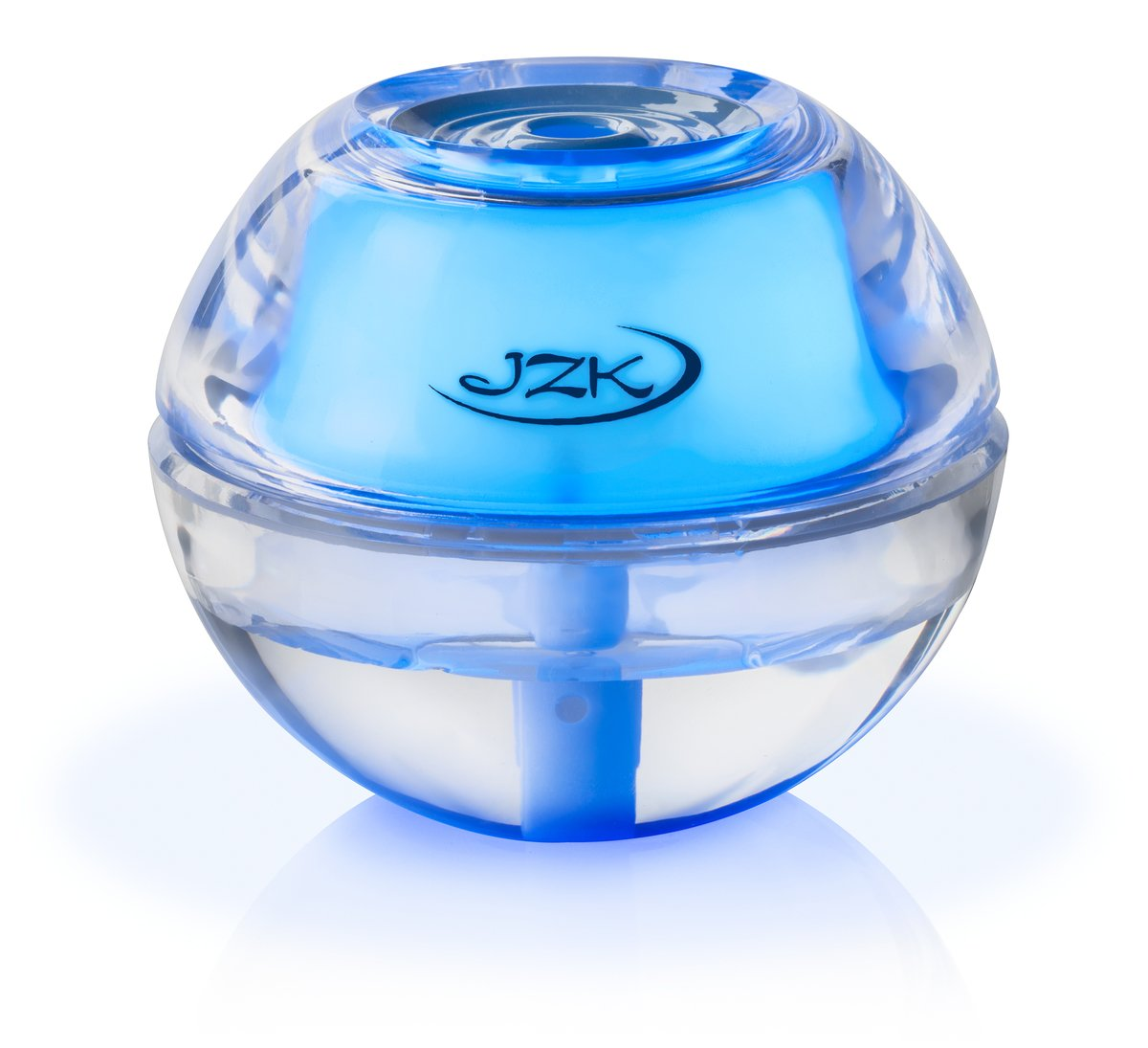 JZK Mini Portable Personal Cool Mist Air Humidifier Diffuser with Blue Night Light for Travel, Desk, Throat, Nose 4-8 Hours