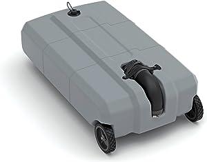 SmartTote2 RV Portable Waste Tote Tank - 2 Wheels - 35 Gallon -Thetford 40503