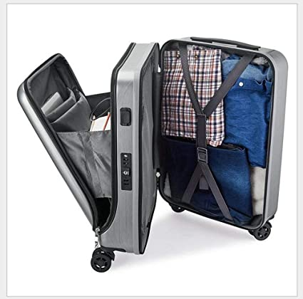 Cimic Trolley Negocio portátil Bolsa de Cabina con Ruedas tamaño Ordenador Bolsa maletín Llevar en Cajas