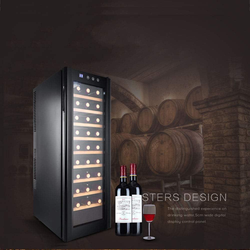 HYYQG Led Enfriador De Vino, Bebidas Nevera 30 Capacidad De La ...