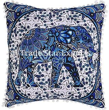 Amazon.com: Elefante, Euro Sham 26 x 26 funda de almohada ...