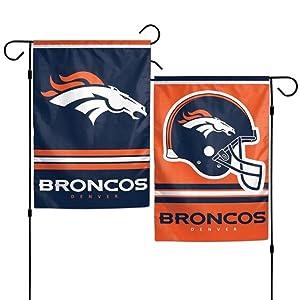 Denver Broncos NFL 11x15 Garden Flag