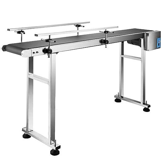Straight Conveyor Belt 70CMx211CM Adjustable Height Very Good Condition