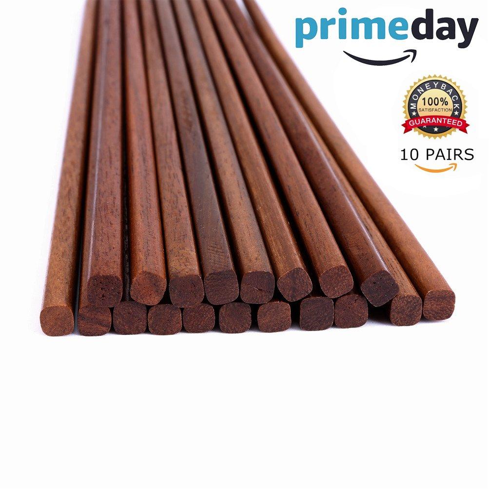 Mannice 健康天然木製箸 COMINHKG078261 B01985K7SW ブラウン1 ブラウン1