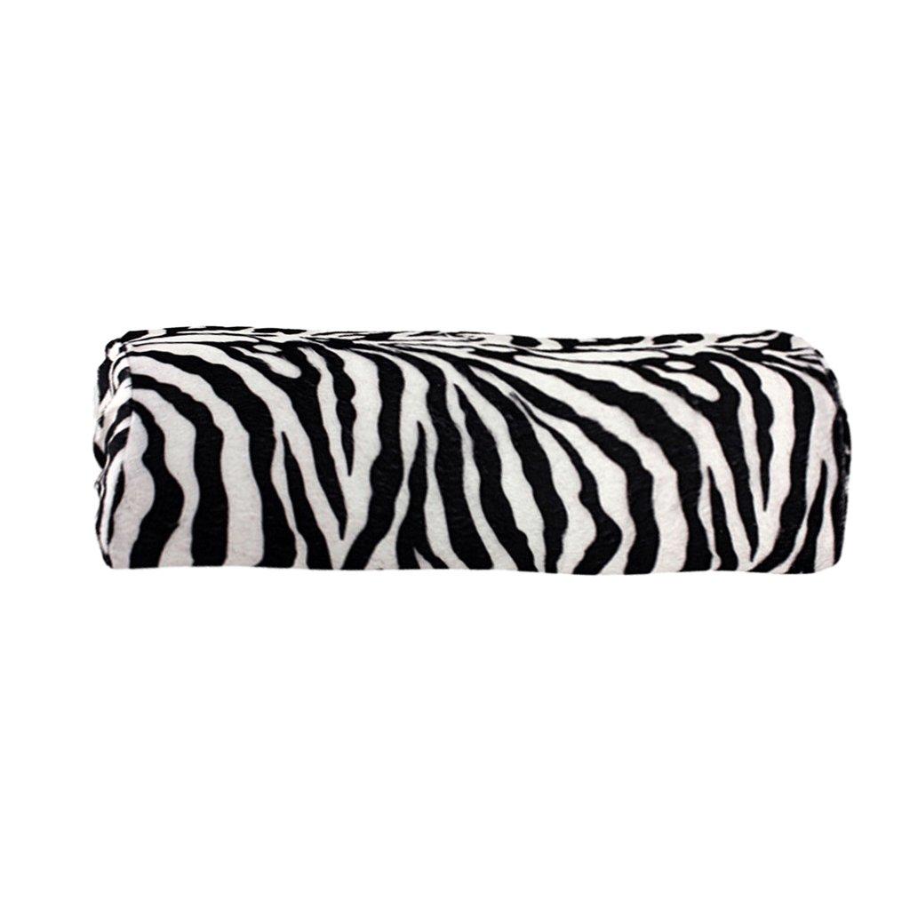 Soft Hand Rest Pillow Nail Art Manicure Hand Holder Cushion - Zebra Pattern Generic