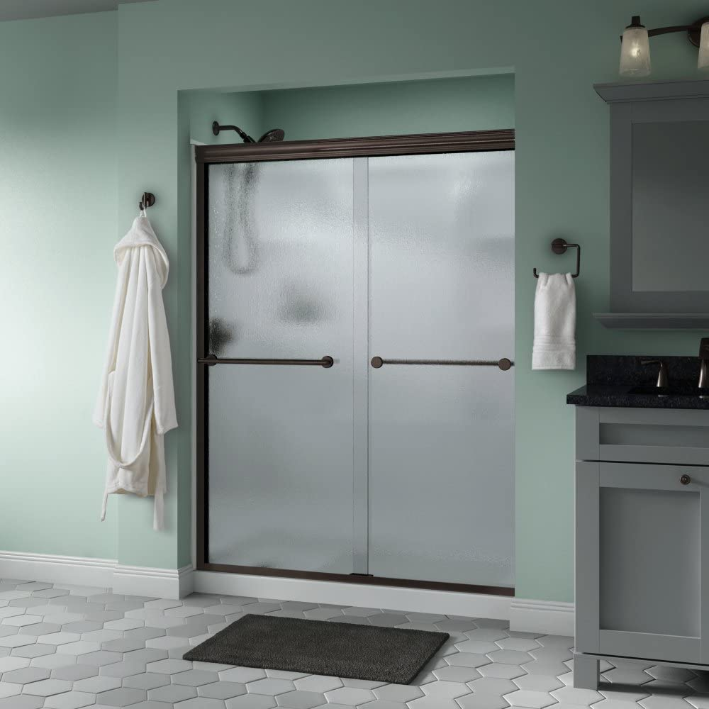 delta shower door reviews