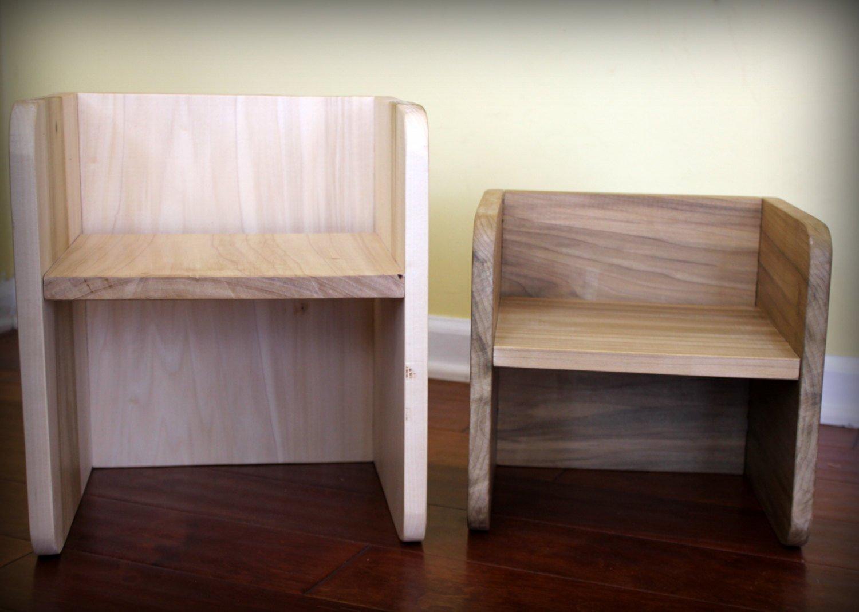 Naturababy Montessori Cube Chair Set (2 Small 1 Large): Amazon.ca: Home U0026  Kitchen
