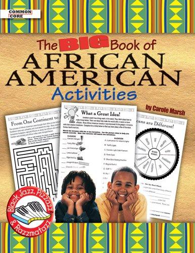 African American Activities - Big Book of African American Activities (Black Jazz, Pizazz & Razzmatazz)