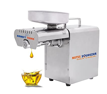 Buy Handy Think Nut Squeezer Fully Automatic Stainless Steel Oil