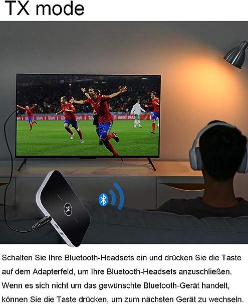 Cokvok Bluetooth Adapter Audio 5 0 2 In 1 Bluetooth Elektronik