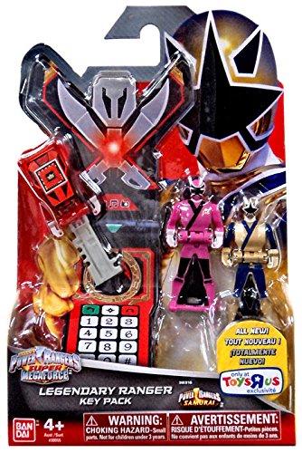 Power Rangers Super Megaforce Legendary Key Pack Samurai