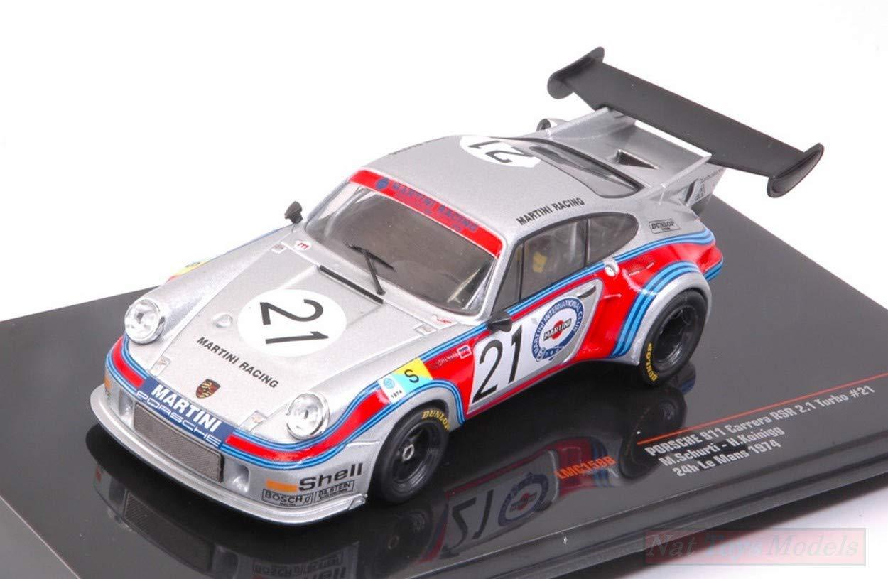 IXO Model LMC158B Porsche 911 Carr.RSR 2.1 Turbo N.21 DNF LM 1974 1:43: Amazon.es: Juguetes y juegos