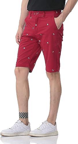 TALLA 30W. Pau1Hami1ton Chino Pantalón Corto Bermuda Pantalones para Hombre PH-26