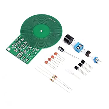 FengYun Metal Detector Electronics Kit DIY Junta de Práctica de Soldadura: Amazon.es: Electrónica