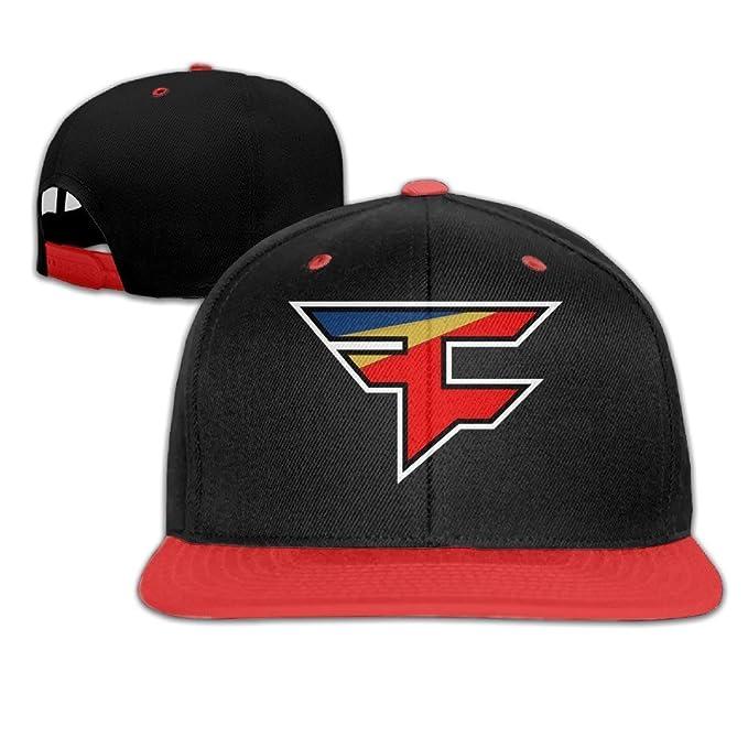 HAOYANG Faze Clan Logo del Equipo Ajustable Sombreros/Sombreros de béisbol/Casquillo de Hip-Hop: Amazon.es: Ropa y accesorios