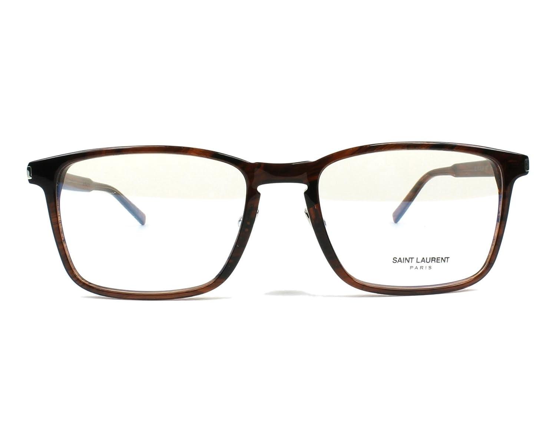 007 BROWN // Eyeglasses Saint Laurent SL 187 SLIM
