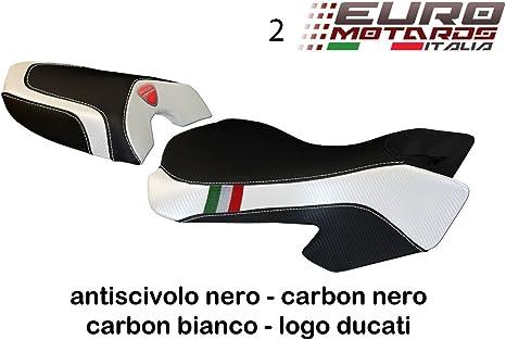 Ducati Multistrada 620 1000 1100 Tappezzeria Sciacca Tricolore Rivestimento per Sella