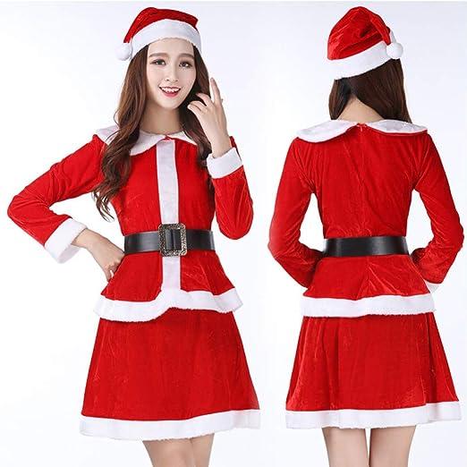 FAFY Navidad Traje De Papá Noel, Cosplay, Linda Niña De Navidad ...
