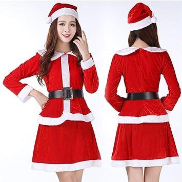 FAFY Navidad Traje De Papá Noel, Cosplay, Linda Niña De ...