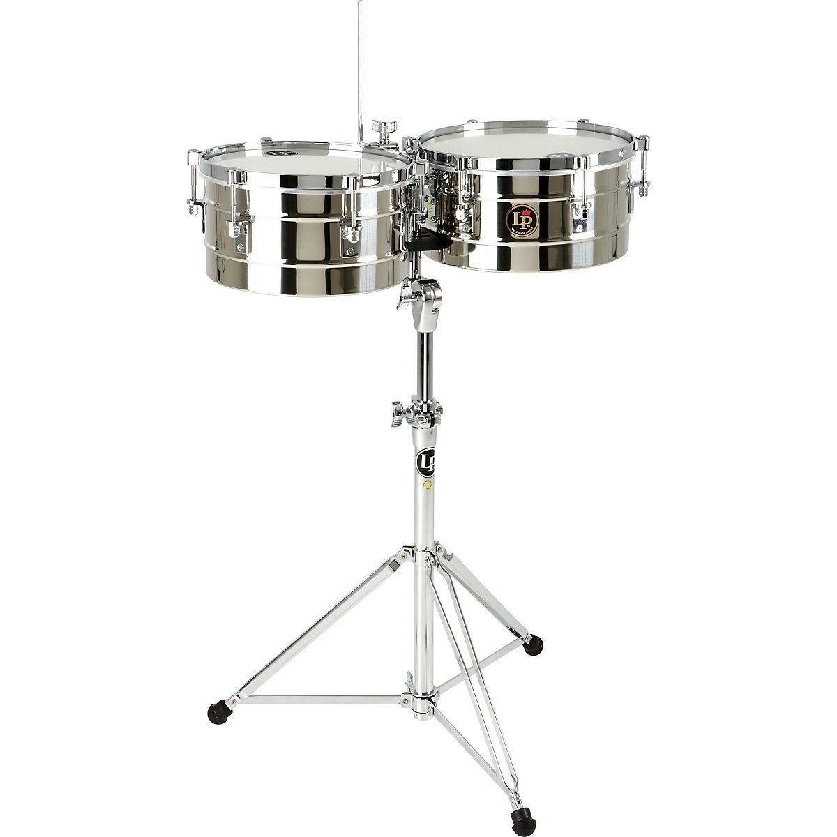 Latin Percussion LP255-S Timbal Stainless Steel KMC Music Inc