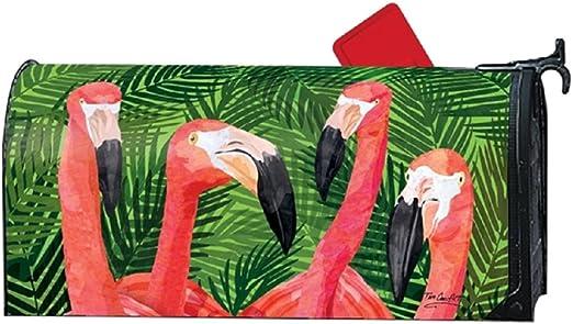 Studio M buzón cubierta MailWrap – Flamenco Reunión: Amazon.es: Jardín